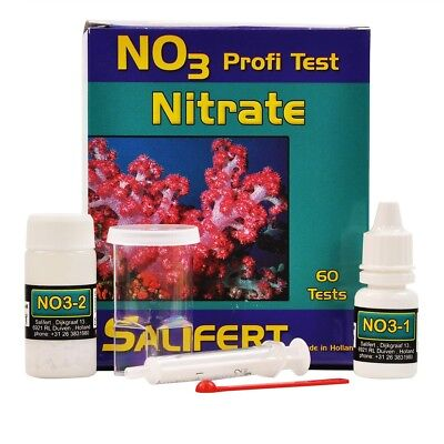 NEW SALIFERT NO3 Nitrate Test Kit up to 60 tests Expiration 2019-2020