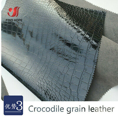 Diy Crocodile Costume (PVC Crocodile Leather Faux Embossed Leather Fabric For Sewing DIY Box)