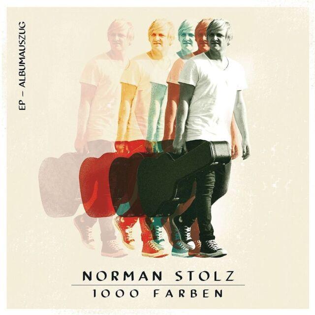 NORMAN STOLZ - 1000 FARBEN (EP - ALBUMAUSZUG)   CD NEU