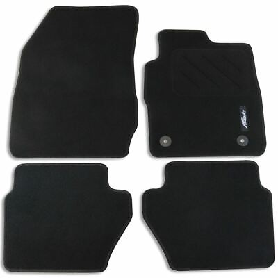 Car Parts - Genuine Ford Fiesta Mk7 Front & Rear Carpet Contour Floor Mats 2012- 1947554