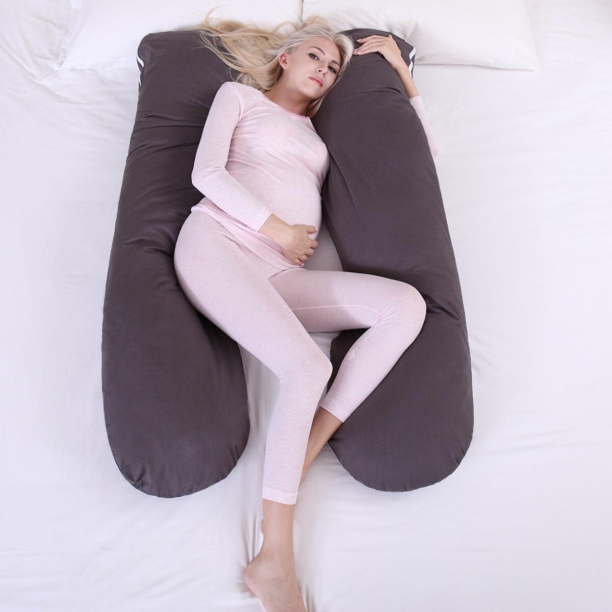 Pregnancy Pillow Maternity Belly Contoured Body U Shape Extr