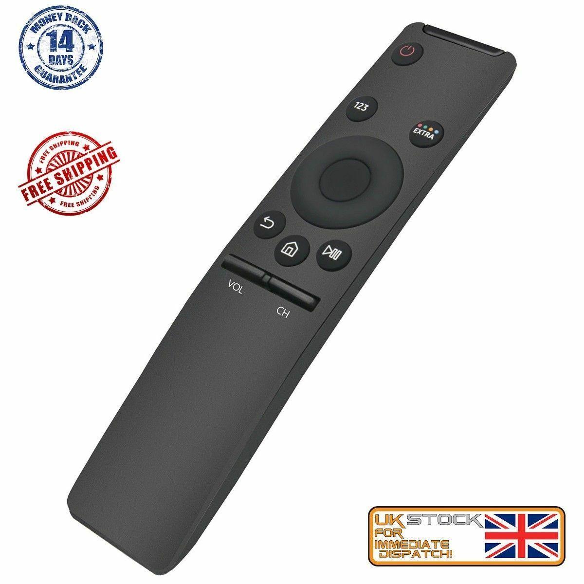 TV Remote for Samsung 4K Smart TV Model UE43KU6405UXXE UE43KU6405