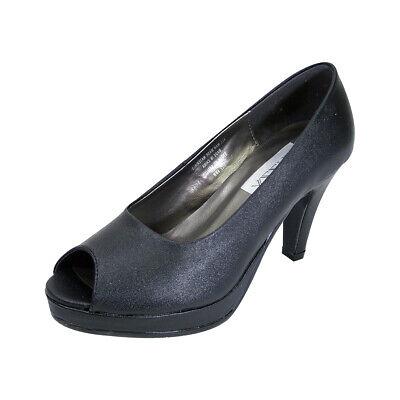 👠 PEERAGE Ruth Women Wide Width Peep Toe Platform High Heel Pump 👠 (Wide Platform Pumps)