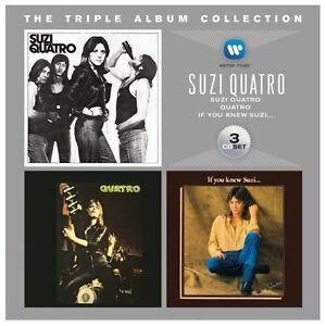 SUZI QUATRO TRIPLE ALBUM COLLECTION 3 CD NEW