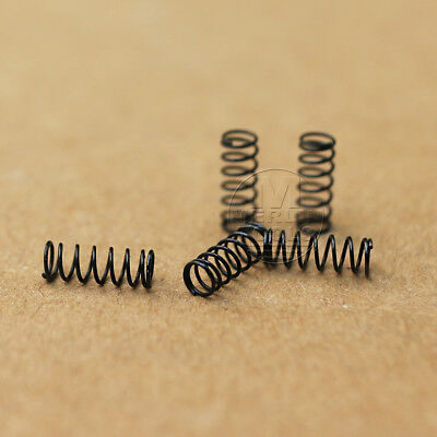 Wire dia 0.3mm OD 3mm Length 8mm  coils 8 Steel Helical Compression Spring