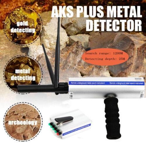 AKS Portable Antenna Metal Detector Locator Scanner Gold Min
