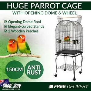 Free Delivery: New 150cm Bird Cage Canary Parrot Budgie Pet Avia Melbourne CBD Melbourne City Preview