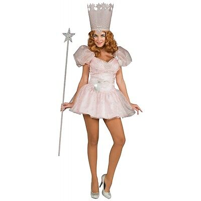 Glinda the Good Witch Costume Adult Wizard of Oz Halloween Fancy Dress - Good Adult Costumes