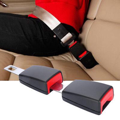 Universal Car Seatbelt Extender Seat Belt Safety 21-21.5mm Extension Pack of 2
