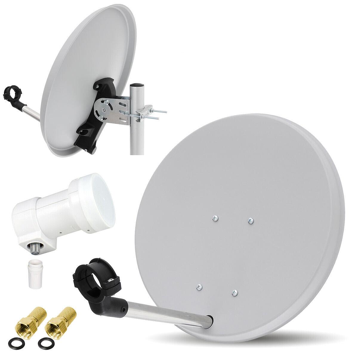HDTV HD Digitale SAT Anlage 40cm Satelliten Spiegel Schüssel OPTICUM LNB Camping