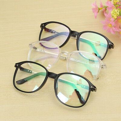 Moda Retro Nerd Brille Klare Gläser Nickelbrille Klarglas Damen Herren Glasses