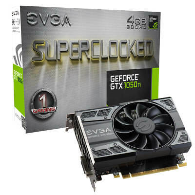 EVGA GeForce GTX 1050 Ti SC GAMING, 04G-P4-6253-KR, 4GB GDDR5, ACX 2.0