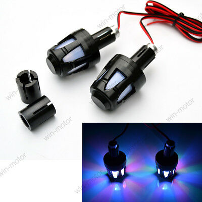 2 PCS LED HANDLE BAR END LIGHT TURN FIT FOR <em>YAMAHA</em> 78 MOTORCYCLE UNI