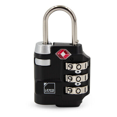 Lewis N. Clark Luggage Lock Travel Sentry 3 Dial Combination TSA Approved - $9.99