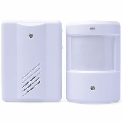 Shop Store Visitor Entry Door Bell Chime Welcome Motion Sensor