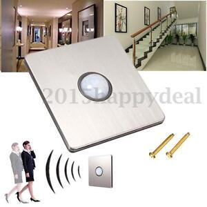 IR Infrared Save Energy PIR Motion Sensor Detector Automatic Lamp Light Switch