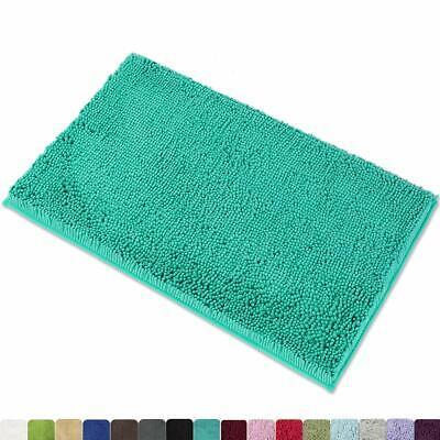 MAYSHINE Non-Slip Bathroom Rug Shag Shower Mat Machine-Washa