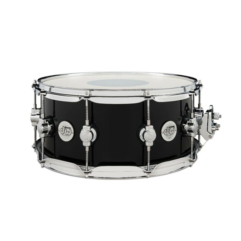 """DW Limited Edition Design Series 6.5""""x14"""" Snare Drum - Gloss Piano Black"""