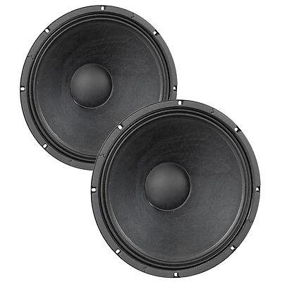 "Pair Eminence Kappa-15LFA 15"" Sub Woofer 8 ohm 99dB 3"" VC Replacement Speaker"