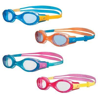 Schwimmbrille Speedo Futura Biofuse Junior Jungen Mädchen Kinder Taucherbrille