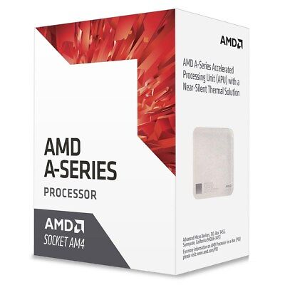 AMD A8-9600 Bristol Ridge Radeon R7 3.1GHz 2MB Processor Boxed