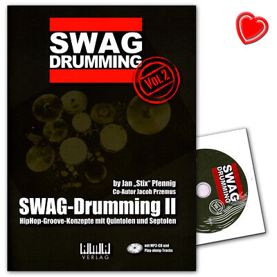 SWAG-Drumming Band 2 mit CD - Ama Verlag - 610460 - 9783899222340