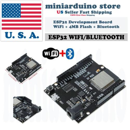 UNO R3 D1 R32 ESP32 CH340G Development Board WiFi 4MB Bluetooth USB Arduino
