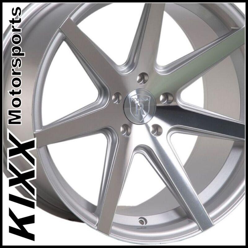 "20"" Rohana Rc7 Silver Concave Wheels For Infiniti Q50 Sedan"