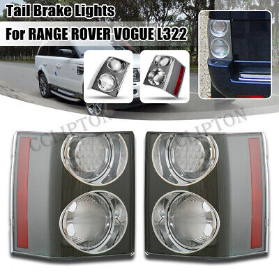 09 Range - Pair Clear Rear Tail Brake Light Lamp For Land Rover Range Rover HSE 2002-2009