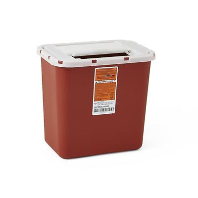 Medline Multipurpose Sharps Containers 2 Gallon Red Wall/Free Case of 20