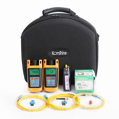 Fttx Loss Tester Toolkit Wfiber Optic Power Meteroptical Light Sourcevfl 1mw