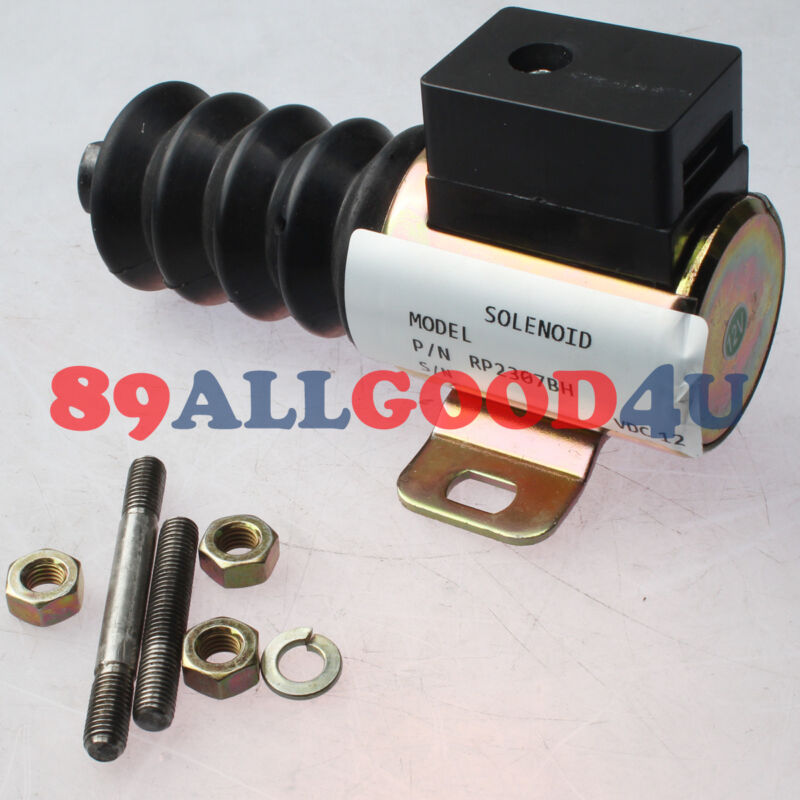 12V Push/Pull DC Stop Solenoid RP-2307BH 40700092 For Murphy
