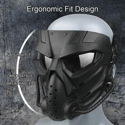 Airsoft Schutzmaske Paintballmaske Jagdmaske Für Außenbereich Verschleißfeste +