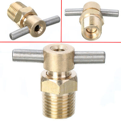 Compressor Part Replacement - 1/4'' NPT Drain Valve Petcock Water For Air Compressor Tank Replacement Part US