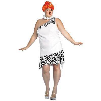 Flintstones Fancy Dress (Wilma Flintstone Costume Adult The Flintstones Halloween Fancy Dress)