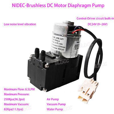 12v 24v Brushless Vacuum Diaphragm Pump Aquarium Vacuum Pump Water Pump Diy