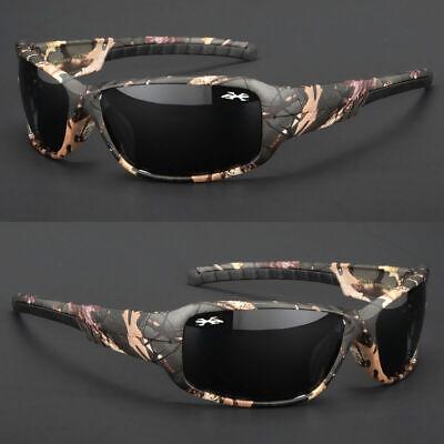 Men Vertex Polarized Real Tree Camouflage Sports Camo Hunting Sunglasses (Shades Tree)