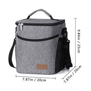 Lifewit Lunchtasche Mittagessen Tasche Thermotasche Kühltasche Isoliertasche 9L