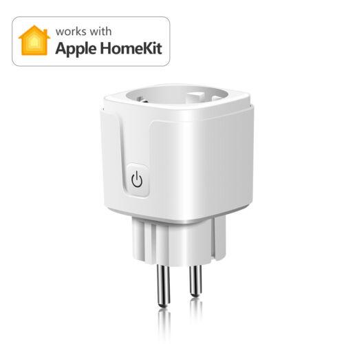 15A EU Plug WiFi Smart Outlet Power Socket Wireless Switch F