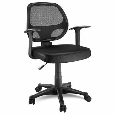 Mesh Adjustable Swivel (Adjustable Ergonomic Mesh Swivel Computer Office Desk Task Chair Mid-back Black )