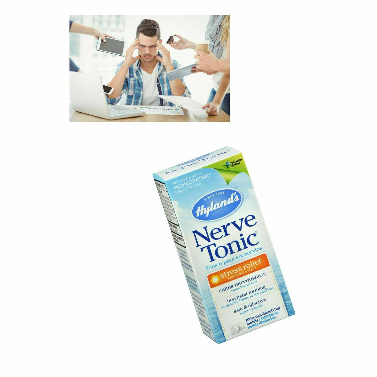 Pastillas Para Los Nervios Tratamiento Anti Estres Suplementos Aliviar Ansiedad 5