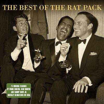 The Rat Pack BEST OF Frank Sinatra Dean Martin Sammy Davis Jr 75 SONGS New 3