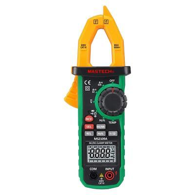 Mastech Ms2109a Digital Acdc Clamp Meter Frequency Capacitance Ncv Tester