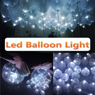 Lot Led White Lamps Balloon Light Paper Lantern Wedding Birthday Party Decor](Balloon Lanterns)
