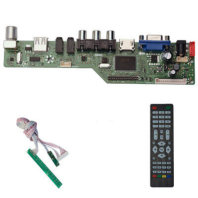 SKR 03(HDMI+AV+VGA+USB)Controller Driver Board Diy Kit for LCD/LED Screen  Panel