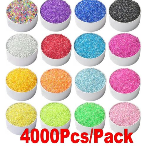 NEW DIY 2mm size 2000pcs about glass seed beads handmade many PICK Colors