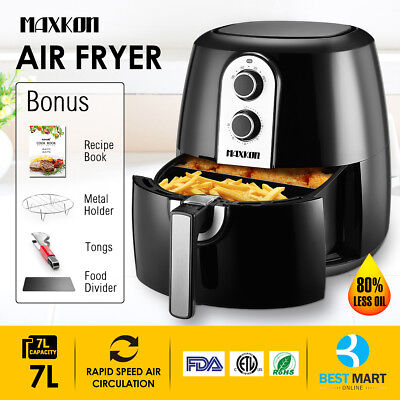 5.3QT Air Fryer 1800W XL Electric Multi-Cooker Rapid Healthy Oil-Less Deep Fryer