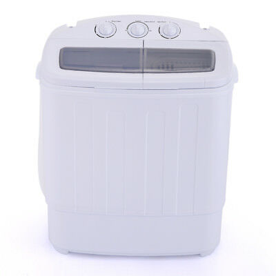 Carry-on Compact Twin Washing Machine Washer Spin & Dry Cycle