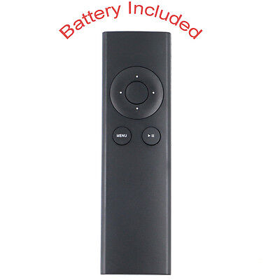 NEW MC377LL/A Universal Remote For Apple TV 2 3 MM4T2AM/A Music System Mac Black