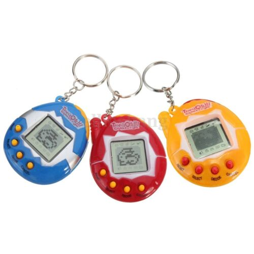 Virtual Pet / Like Tamagotchi / 49 In 1 Cyber Pet Toy / Retro / Blue RED Gift